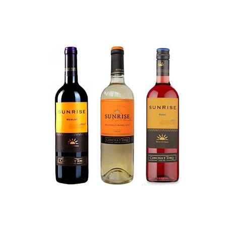 Вино Сан Райз Мерло