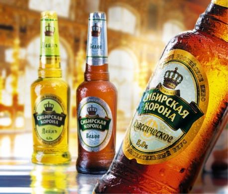 Пива Сибирская корона