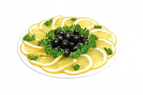 Лимон / маслины