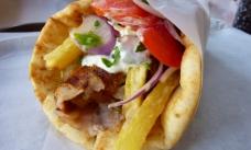 Бурум по-гречески (Gyros)  со свининой