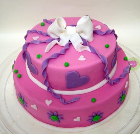 Торт с мастикой