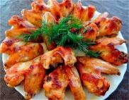 Куриные крылышки