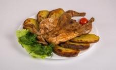 Цыпленок с картофелем